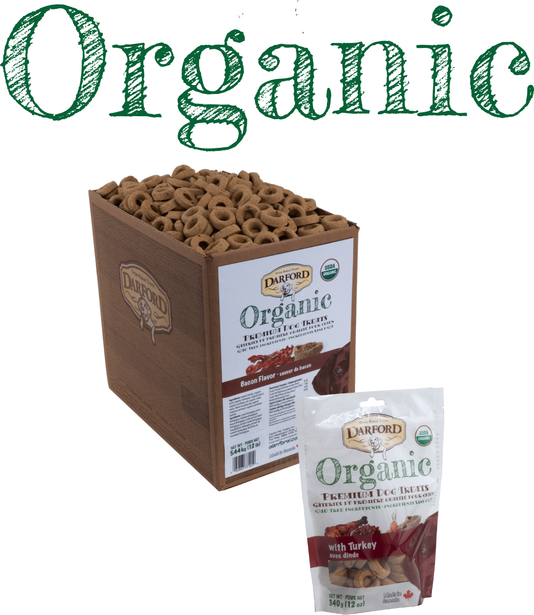 Darford organic dog treats
